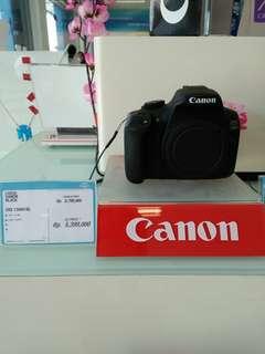 Kredit kamera canon cukup bayar adm 199.000 dg bunga ringan