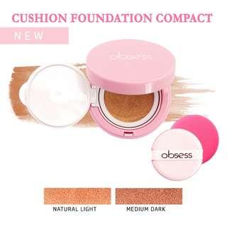 📢📢 Good news! Obsess DD Cushion Foundation now comes in 2 shades! 👉 Natural Light 👉 Medium Dark