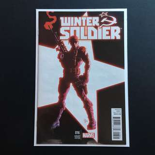 Winter Soldier #16 Incentive Variant 1:30