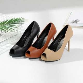 JOSÉ DAROCA Open toe pumps Shoes Series # 1298-133 #