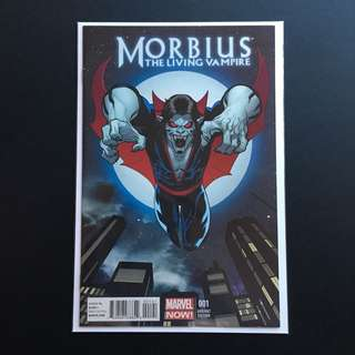 Morbius The Living Vampire #1 Incentive Variant 1:50