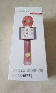 Wireless Microphone with speaker