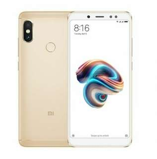 紅米 Redmi Note 5, 4+64G Hong Kong Version Champagne Gold