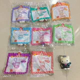 🚚 麥當勞 2000年 兒童餐玩具 hello kitty 吊飾