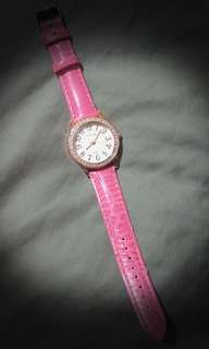 Pink  shimmery watch