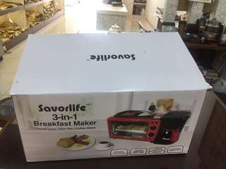 Savorlife 3 in 1 breakfast maker