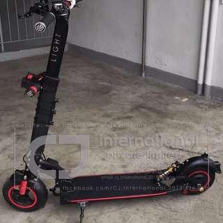 e-Scooter Full Suspensions Upgrade!