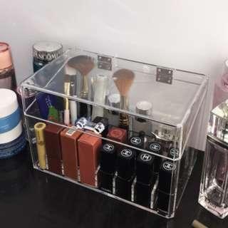 Acrylic Storage box with lid Cosmetic Organizer