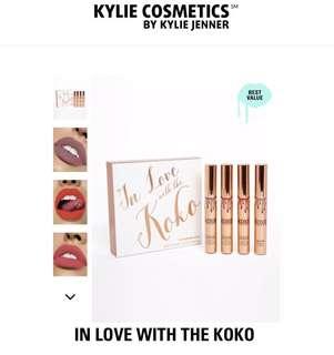 BRAND NEW Koko Liquid Lip Kollection By Kylie Cosmetics