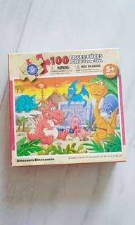 new in box! dinosaur puzzle