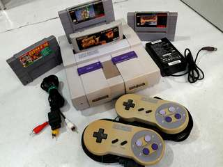 Super Nintendo SNES Bundle