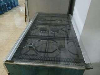 Burner dengan oven,kompor 6 tunggku dengan oven