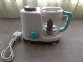 Autumnz 2 in 1 Baby Food Processor (steam & blend) *Turquoise*