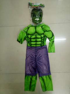 Hulk costume 2-3 tahun