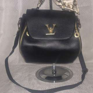 Pretty LV Inspired Sling Crossbody Bag
