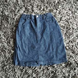Uniqlo Kids Denim Skirt