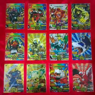 100% Authentic Animal Kaiser Tournament / Champion / Limited / Ultra / Special Rare / Special Ops Leo Cards