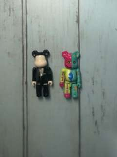 Bearbrick secret and artist set! Conrad leash!
