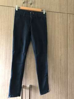 Forever21 Jeans with Side Zippers (Size 24)