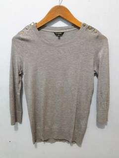 Grey Blouse - Massimo Dutti *ORIGINAL*