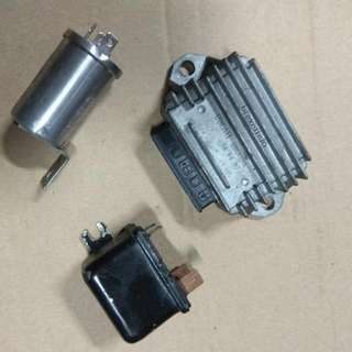 Vespa PX200 Rectifier,  Signal Relay & More