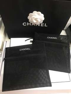 Chanel Net square pouch