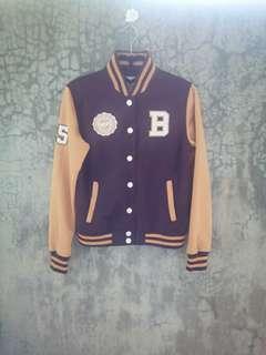⛔FREE SF🎉🚚 BNY Jeans Varsity Jacket