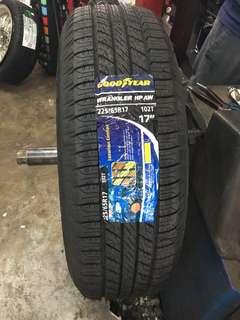225/65/17 Wrangler HP Goodyear tyre