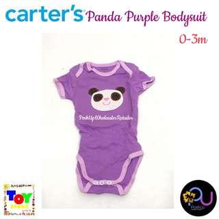 Carter's Purple Bodysuit 0-3m
