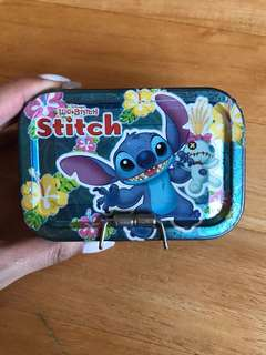 史迪仔鐵盒 Stitch Tin Case