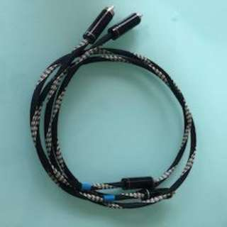 RCA cables for turntables from UK