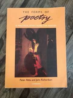 The Forms of Poetry by Peter Abbs/John Richardson
