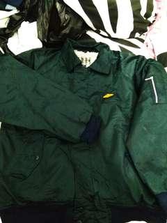 #MURAH# EiT Plain Bomber Jaket hijau Army