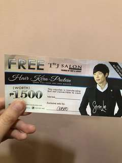 Tony and Jackey Hair Kera-Protein Voucher 1500