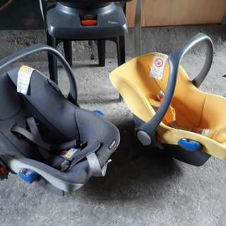 Combi 3in1 carseat/ carrier/ rocker
