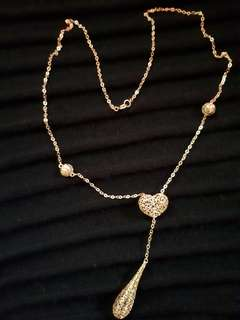 Necklace 18k 3.4g 18inch