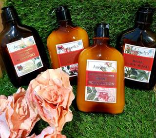 Rose Romance Body Wash Shampoo Lotion Conditioner
