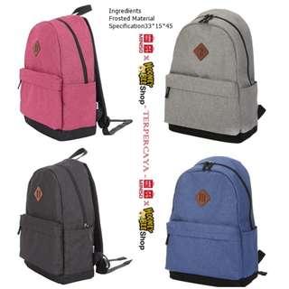 Japan Quality - Backpack Sekolah Kerja Kuliah Import Miniso Ransel Tas