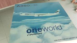 JC WINGS 1:200 Finnair (ONE WORLD LIVERY) Airbus A350-900