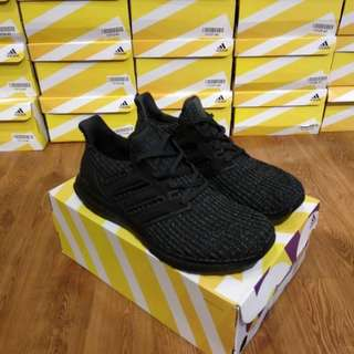 (Best Seller) Adidas Ultra Boost 4.0 Triple Black
