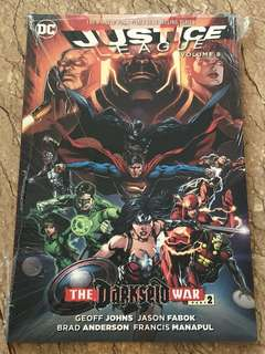 Justice League Darkseid War Part 2 Volume 8
