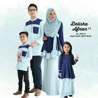 AFNAN & DELISHA FAMILY SET SEDONDON