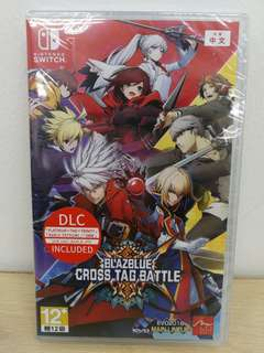 (Brand New) Nintendo Switch Blazblue Cross Tag Battle