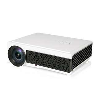 2500 Lumens LED Projector - 5.8 Inch LCD Panel, 2000:1 Contrast Ratio, 1920x1080 DPI Resolution (CVAIA-E893)
