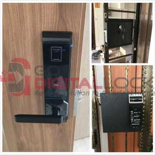 Schlage S-6800 Digital Lock + Gateman WF20 Digital Lock for Main Door and Gate at $1180