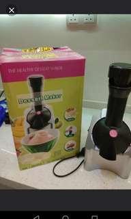Brand new ice cream/dessert/smoothie maker