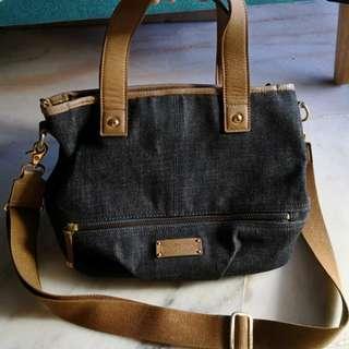 Burberry blue lable Jeans Sling bag