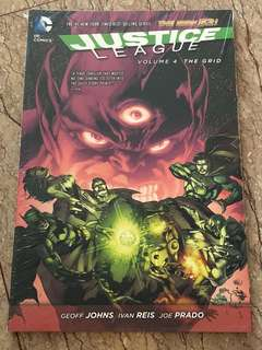 DC comic Justice League The Grid Volume 4