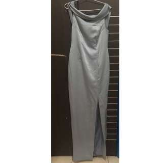 Long dress pesta gown sabrina