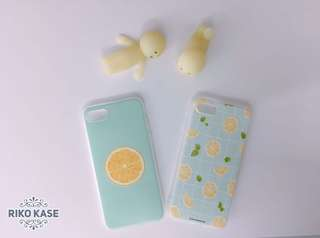 全新 夏日小清新檸檬iphone7/8 手機殼case